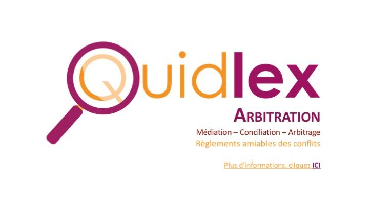 Quidlex Arbiration